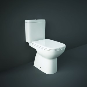 RAK Origin Full Access WC Pack with Soft Close PP Seat