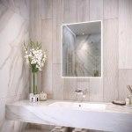 RAK Amethyst 600x800mm Illuminated Portrait Mirror