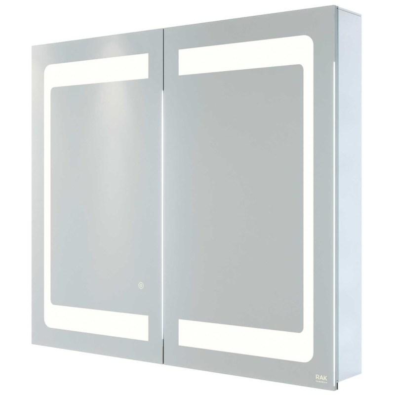 RAK Aphrodite 800x700mm Recessable Illuminated Mirror Cabinet