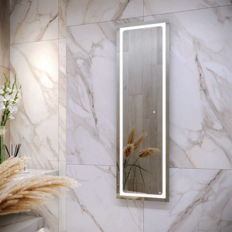 RAK Aquarius 420x1400mm Illuminated Tall Dress Mirror