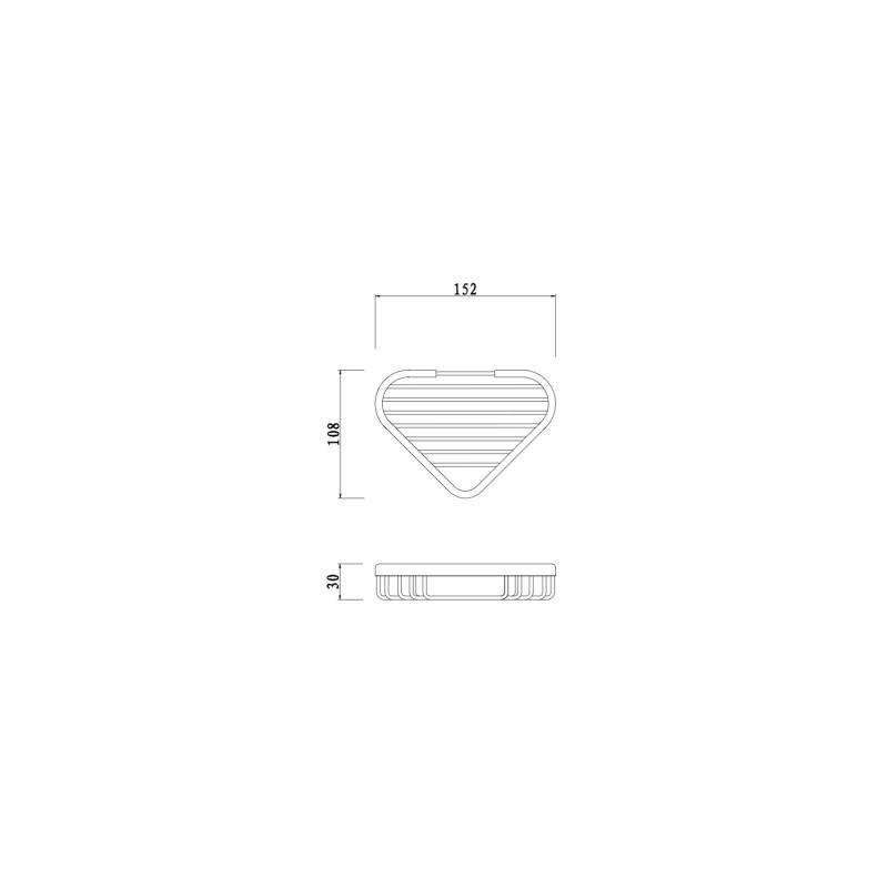 RAK Single Corner Basket