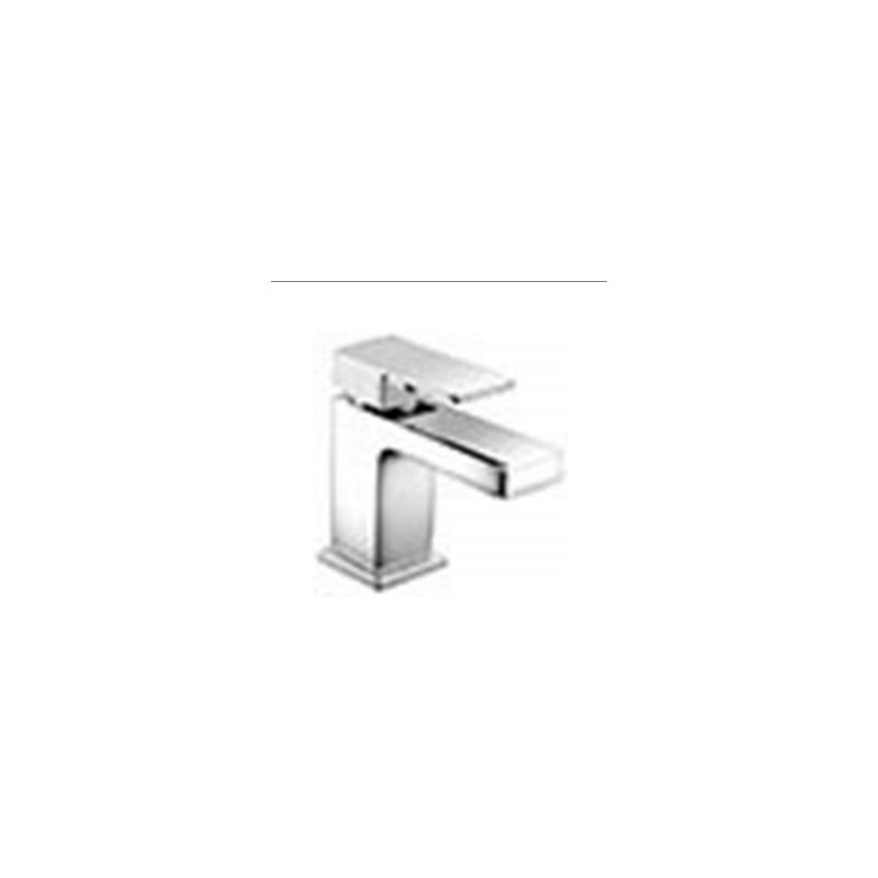 RAK Cubis Mono Basin Mixer with Clicker Waste