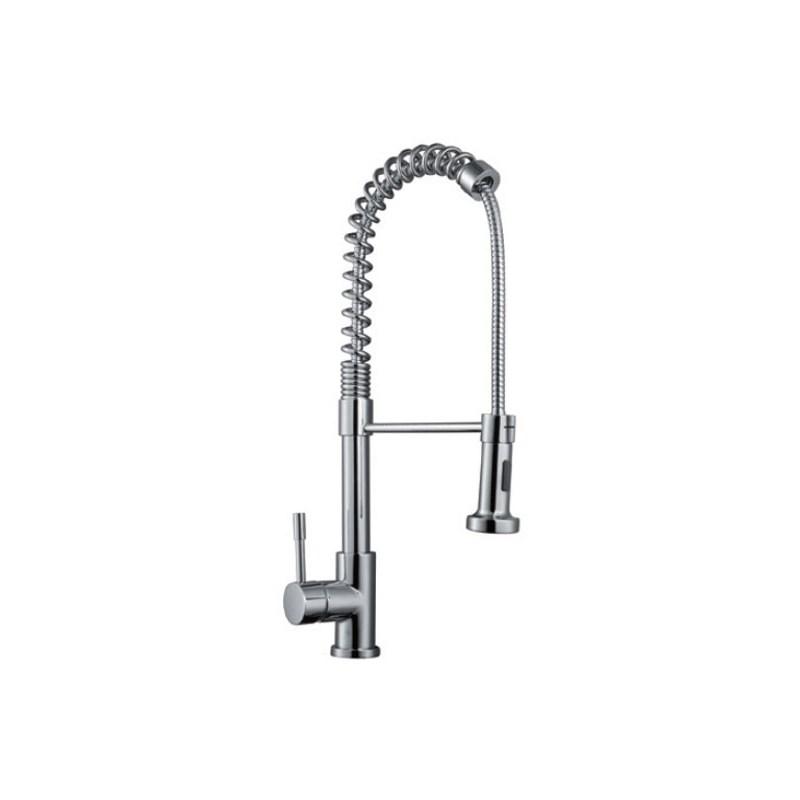 RAK Rome Pull Out Side Lever Kitchen Sink Mixer