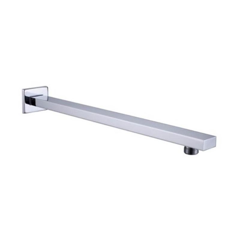 RAK 300mm Wall Shower Arm Square Chrome