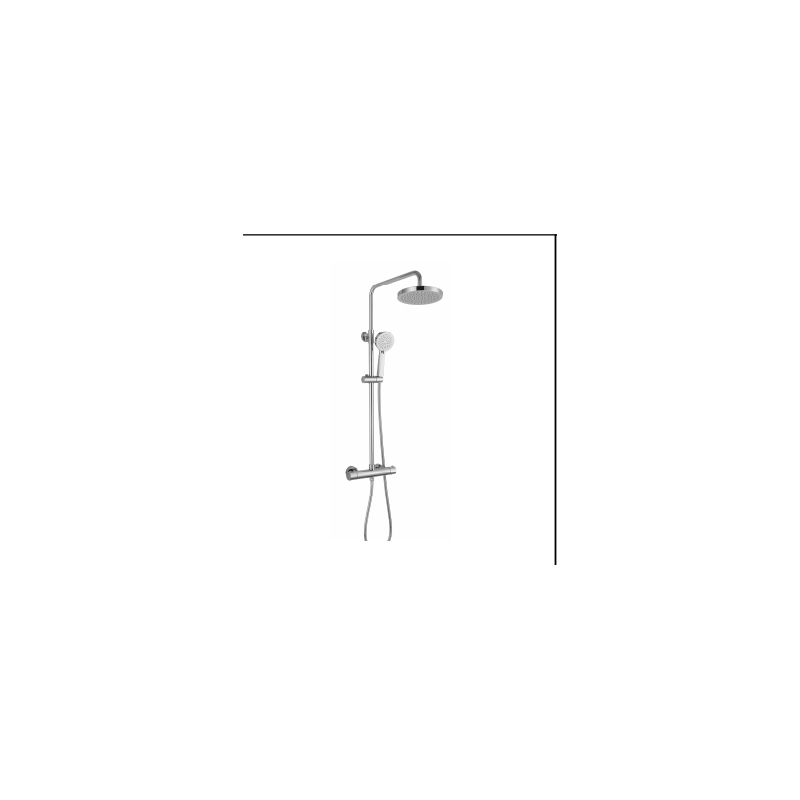 RAK Cool Touch Round Thermostatic Shower Column (WRAS)