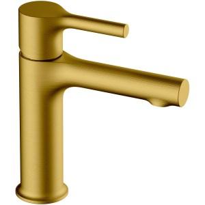 RAK Sorrento Standard Basin Mixer Brushed Gold