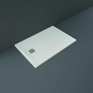 RAK Feeling Shower Tray Solid White 80x120cm