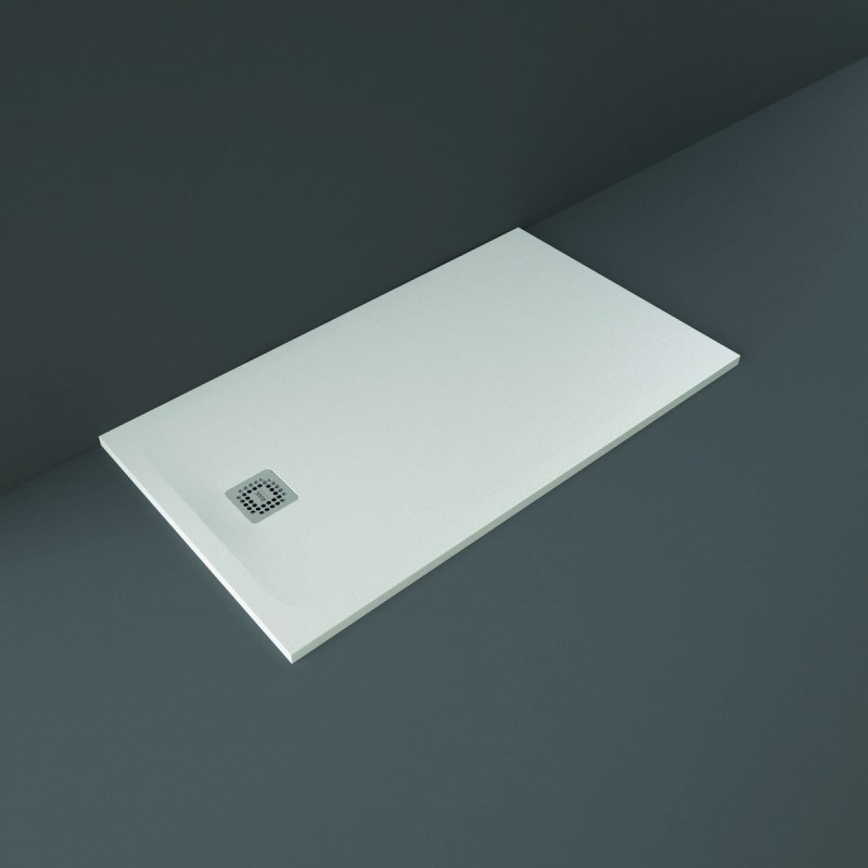 RAK Feeling Shower Tray Solid White 80x140cm