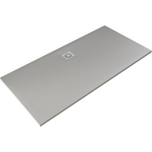 RAK Feeling 1700x700mm Shower Tray Grey