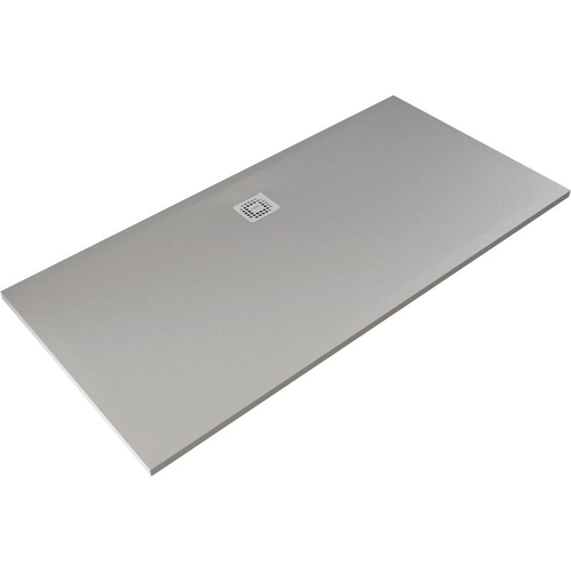 RAK Feeling 1700x700mm Shower Tray Grey