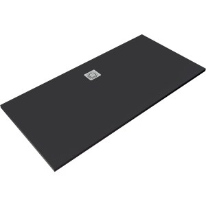 RAK Feeling 1700x900mm Shower Tray Black