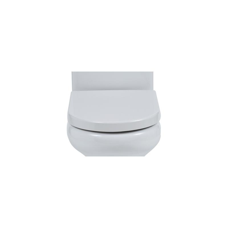 RAK Compact Rimless Soft Close Toilet Seat