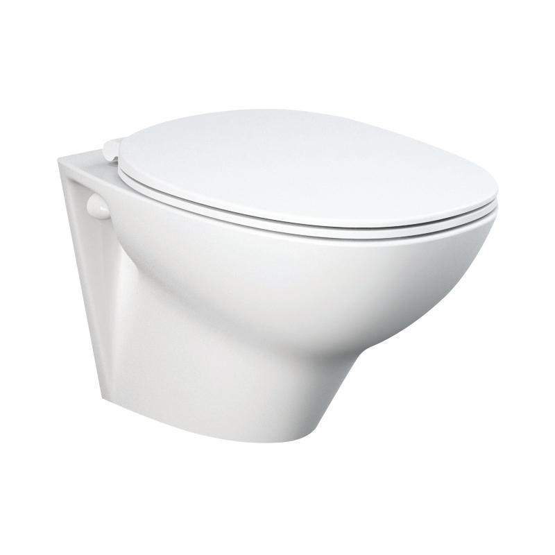 RAK Morning Wall Hung WC Pan & Soft Close Seat