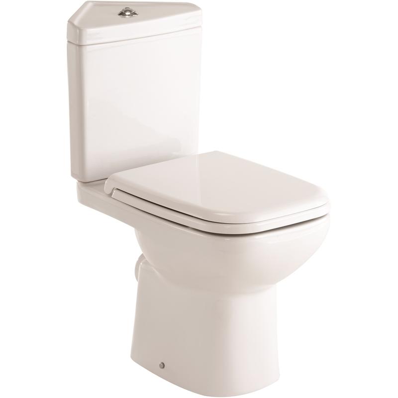RAK Origin Corner WC & Soft Close Seat