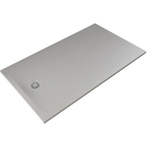 RAK Feeling 1200x800mm Shower Tray Grey