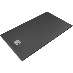 RAK Feeling 1200x800mm Shower Tray Black