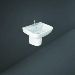 RAK Series 600 Half Pedestal for 52cm Basin