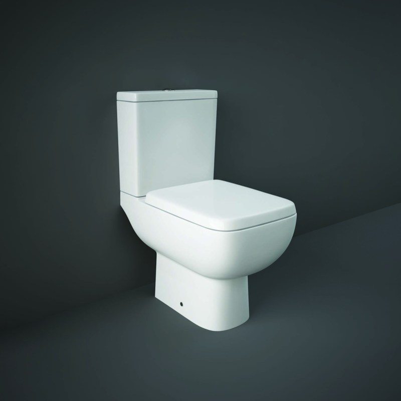 RAK Series 600 Full Access WC Pack with Soft Close Seat