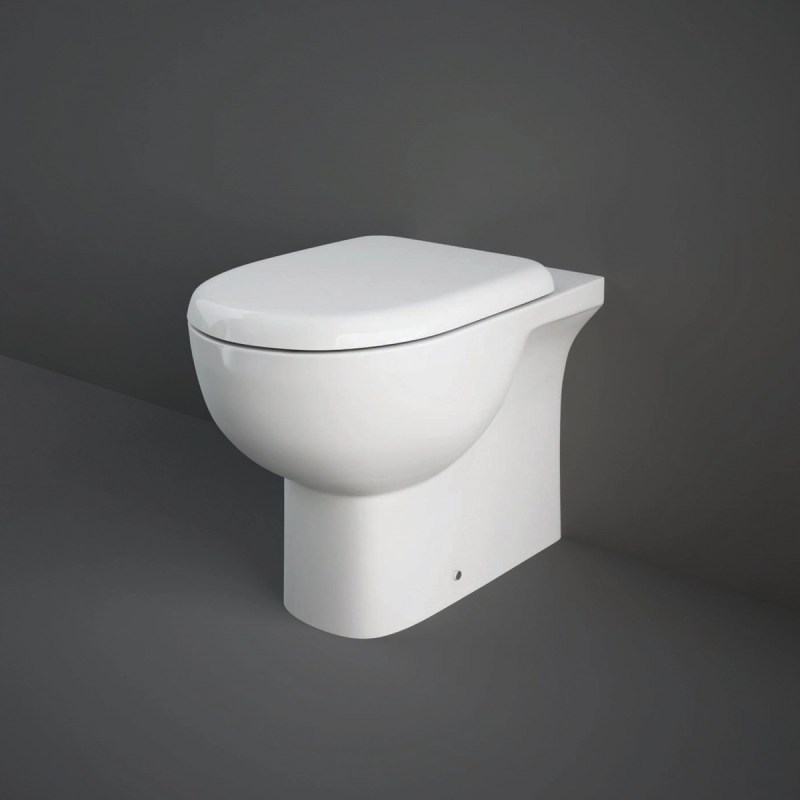 RAK Tonique Back To Wall Pan with Soft Close Seat