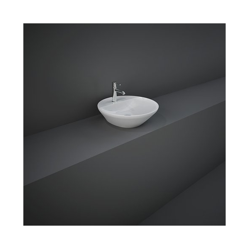 RAK Variant Round Counter Top Basin 42cm 1 Tap Hole