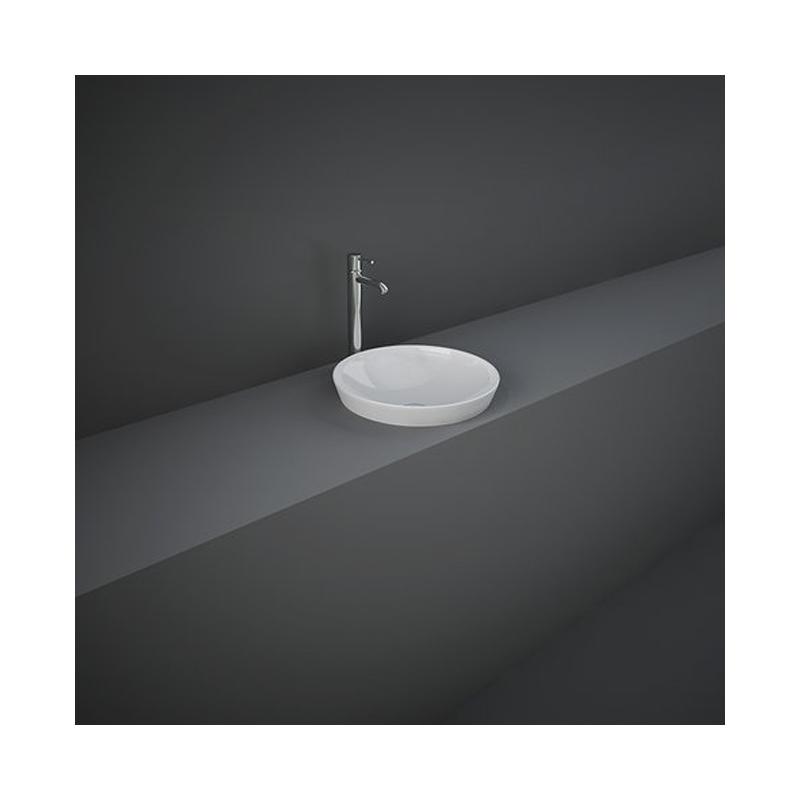RAK Variant Round Drop-In Wash Basin 36cm Alpine White