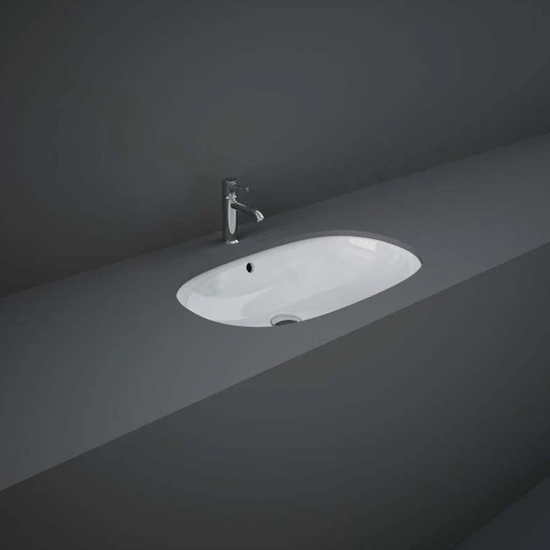 RAK Variant Elongated Oval Under Counter Wash Basin 60cm
