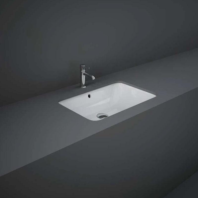 RAK Variant Rectangular Under Counter Wash Basin 55cm