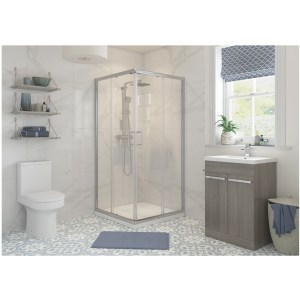 RefleXion Classix 800mm Corner Entry Shower Door