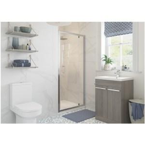 RefleXion Classix Framed 760mm Pivot Shower Door