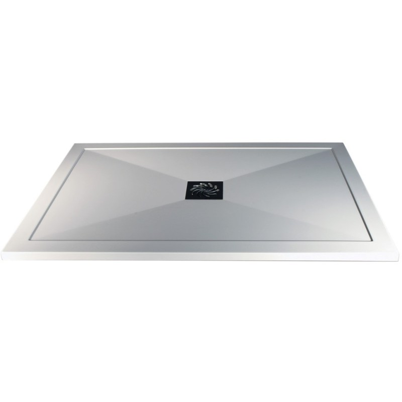 RefleXion 25mm Ultra-Slim 1400mm x 760mm Rectangular Tray & Waste