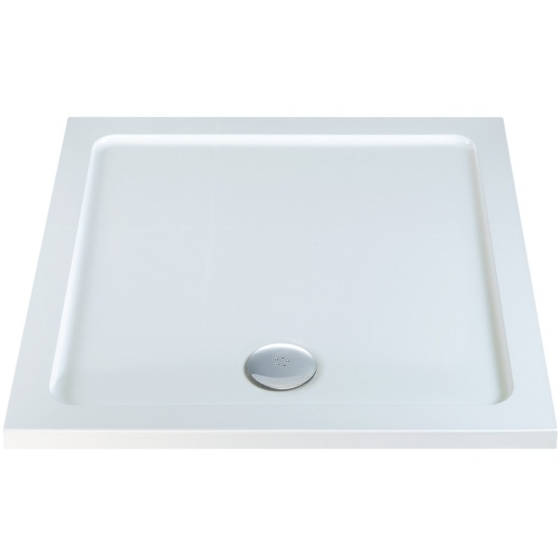 RefleXion 40mm Low Profile 700x700mm Square Tray & Waste