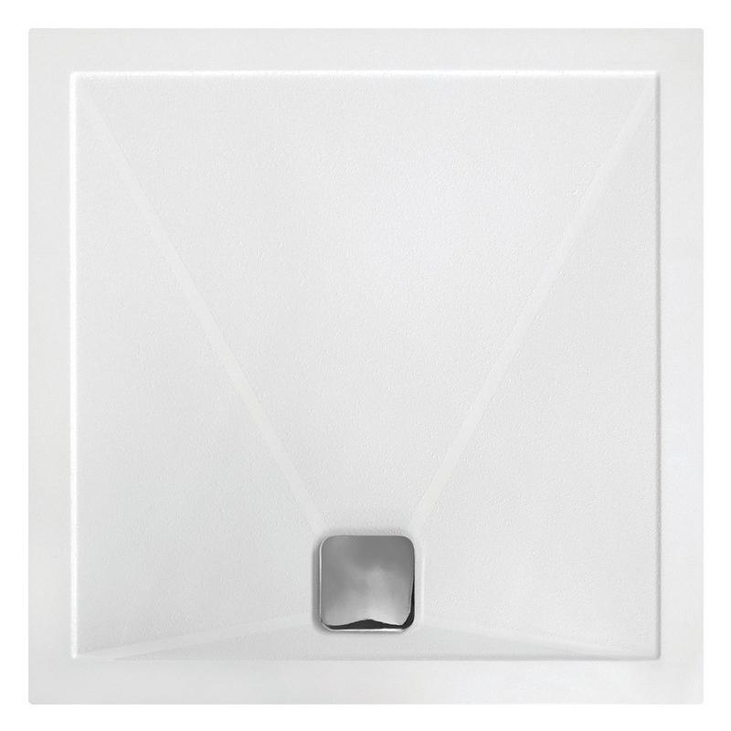 RefleXion 25mm Anti-Slip Ultra-Slim 800mm Square Tray