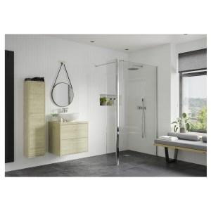 Reflexion Iconix 800mm Wetroom Panel & 300mm Rotatable Panel