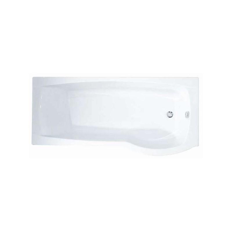 Roca Giralda Shower Bath for Right Corner 1700x800/700mm White