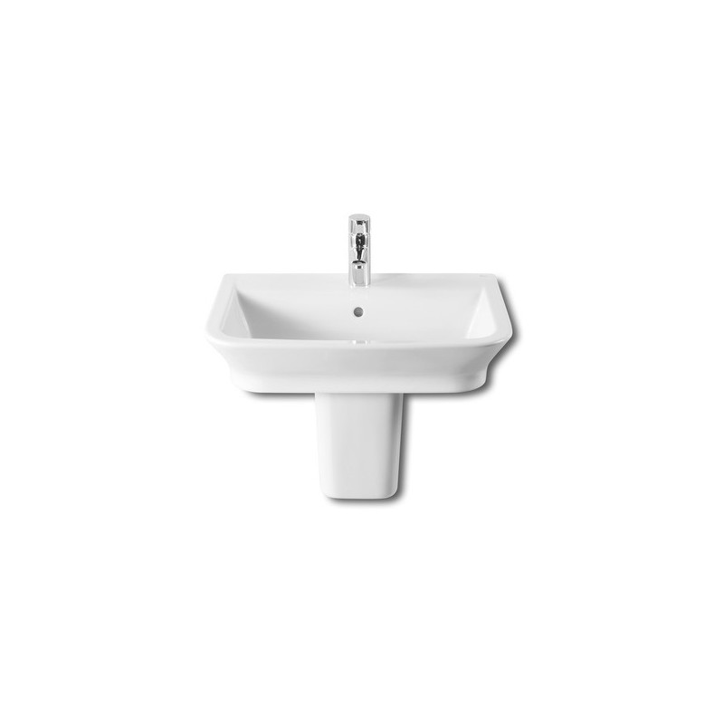 Roca The Gap Wall-Hung/On Countertop Basin 550 x 470mm 1 Taphole