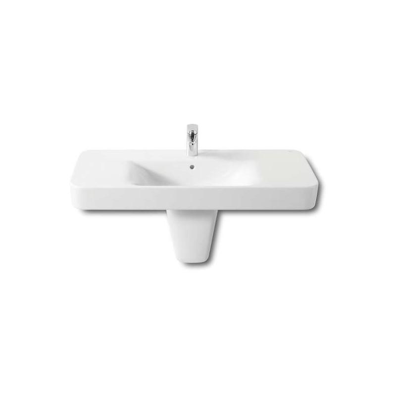 Roca Senso Square Vanity/Wall-Hung Basin 1000 x 480mm 1 Taphole