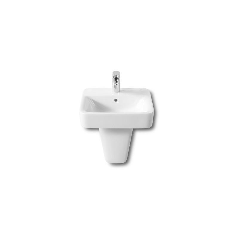 Roca Senso Square Vanity/Wall-Hung Basin 450 x 440mm 1 Taphole