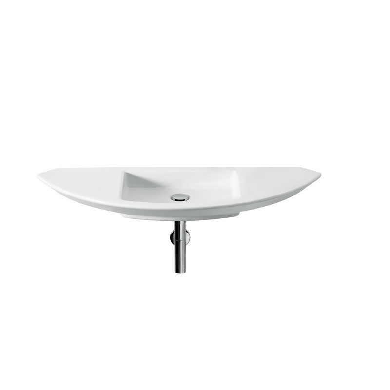 Roca Mohave Wall-Hung Basin 1100 x 430mm 0 Tapholes