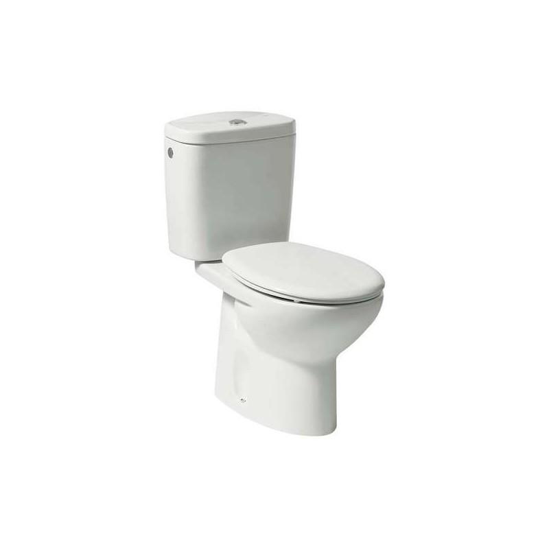 Roca Laura Close Coupled WC Eco Pan White