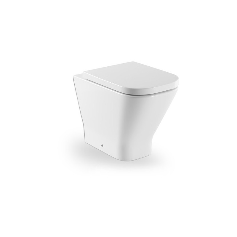Roca The Gap Back-To-Wall Toilet with Standard Seat