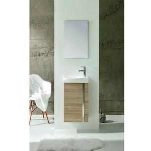 Royo Elegance Floorstanding Cloakroom Unit Pack Walnut