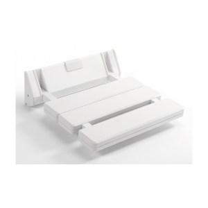 Sagittarius Wall Mounted Shower Seat White