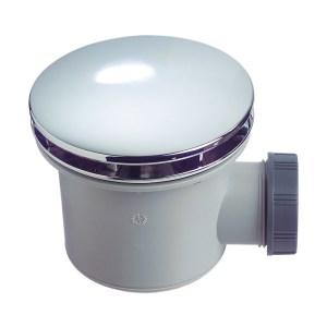 Sagittarius 90mm Domed Shower Waste & Trap