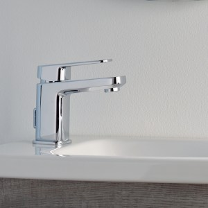 Sottini Turano Small Basin Mixer with Pop Up Waste