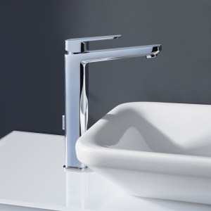Sottini Turano Tall Basin Mixer with Pop Up Waste