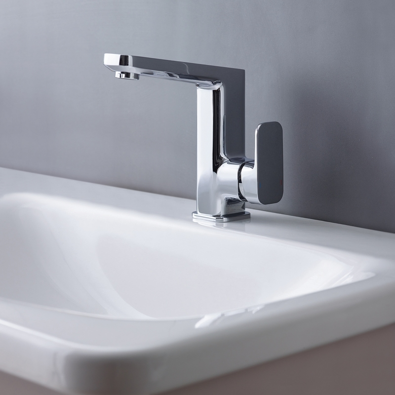 Sottini Turano High Spout Basin Mixer with Pop Up Waste