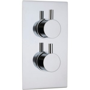Sterling Blue Star 2 Outlet Shower Mixer Round Controls
