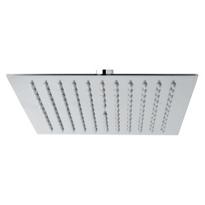 Sterling Tempest Square Shower Head 300 x 300mm Stainless Steel