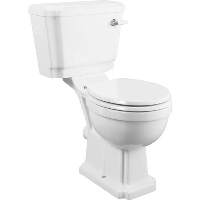 Synergy Henbury Close Coupled WC Pan