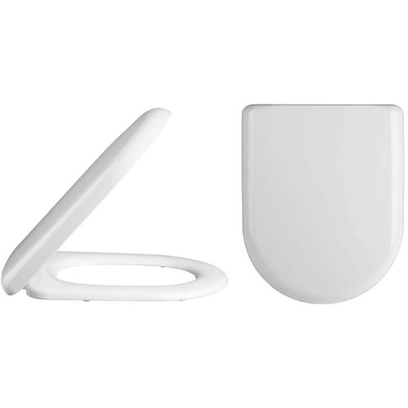 Synergy Navero D Shaped Soft Close Toilet Seat
